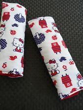 Handmade Capsule/Car/pram/High chair Padded Hello Kitty  Seat belt Cover( 20 cm)