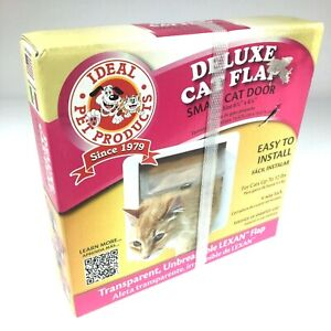 Ideal Pet Products 4 Way Locking Deluxe Small Cat flap door with lexan flap