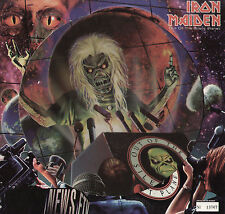 "12"" IRON MAIDEN OUT OF THE SILENT PLANET + 2 PICTURE DISC PDK NUMBERED COPY LTD"