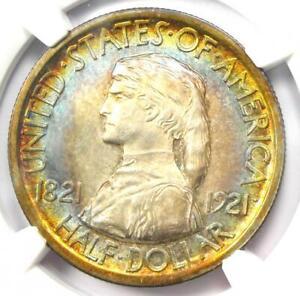 1921 Missouri Half Dollar 50C Coin - Certified NGC Uncirculated Details (UNC MS)