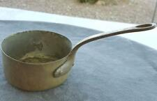 Antique Copper Butter Melting Pan Iron Handle