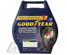 030 77901 CATENE DA NEVE GOODYEAR G9 GOMMA MISURA 175/50-14
