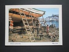 Postcard ~ Boat Repair - Paisos Catalans, Spain