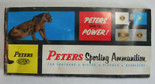 Early 1960's Peters Sporting Ammunition Catalog