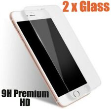 2 x Tempered Glass 9H Screen Protector For iPhone 7 6/6S, 3D Soft Touch Guard
