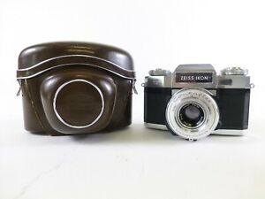 Zeiss Ikon Contaflex Super B 35mm Rangefinder Camera with Case and in EC.