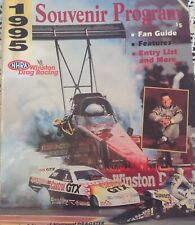 Winston Drag Racing 1995 NHRA Souvenir Program