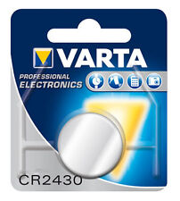 4x VARTA Professional CR2430 3V pack