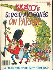 Sergio Aragones on Parade Mad Big Book 1st Print Groo