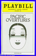 Playbill + Pacific Overtures + B.D. Wong , Evan D'Angeles , Yoko Fumoto