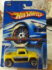 Hot Wheels Hummer H3T Concept #173 Yellow