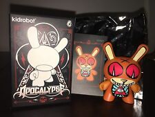"Apocalypse Series 2012 Dunny by Kidrobot, artist Jermaine Rogers, 3"", Rare- NEW"