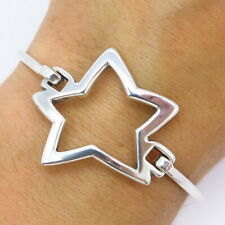 James Avery Retired 925 Sterling Silver Star Hook-On Bracelet