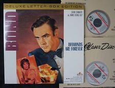 *LASERDISC* JAMES BOND 007 Diamonds are forever deluxe letterbox *LASER DISC*