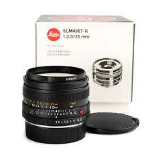 Leica 35mm f/2.8 ELMARIT-R E55 Lens V3 (Last version) EXC in BOX