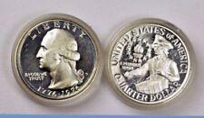 "1976-S 25C Washington Quarter usw BU Mint Cello Wrap/"" 40/% Silver 50 Cents Shippi"