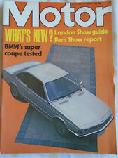 Motor 16/10/76 BMW 633 Coupe