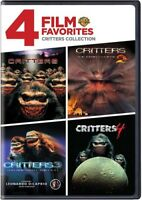 4 Film Favorites: Critters Collection [New DVD] Full Frame, Widescreen, Eco Am