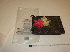 Avon Mark Womens Ladies natural straw hand bag F3200741 make up travel New;