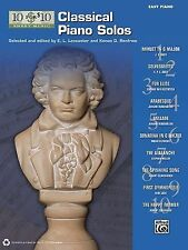 10 for 10 Sheet Music Classical Piano Solos, , New Books