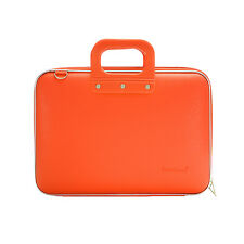 "Bombata - Orange Medio Classic 13"" Laptop Case/Bag with Shoulder Strap"