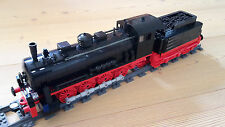 Bauanleitung/Instruction MOC BR 55 aus Lego® Steinen - Eisenbahn Dampflok 10194