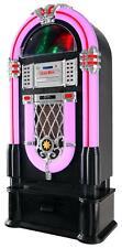 Tolle Vintage Jukebox mit Plattenspieler, CD, SD, USB und Radio samt Unterbau