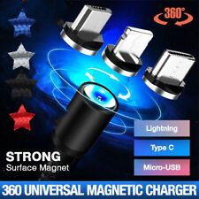 3 IN 1 Micro USB Magnetic Adapter Strong Charger Cable  iOS/ Android/ Type C
