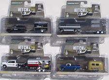 GREENLIGHT HITCH & TOW SERIES 3 SET DODGE CHEVY FORD & AIRSTREAM FLATBED HAULER