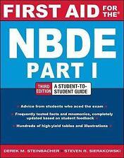 First Aid for the NBDE Part 1, Third Edition (First Aid Series), Steinbacher, De