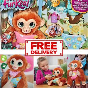 FurReal Piper My Baby Monkey Interactive Animatronic Plush Toy (4+ Years)