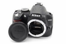 Nikon D D3000 10.2MP Digital SLR Camera - Black (Body Only)