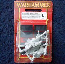 1997 caos Beastman Pestigor comando Citadel Warhammer Beastmen Bestia Broo MIB