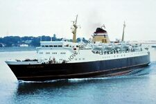 ap562 - Dutch Ferry - Koningen Juliana , built 1968 - photo 6x4