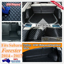 Custom Made Car Boot Cargo Mats Wheel Arches Cover Liner for Subaru Forester