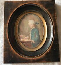 MINIATURE ANCIENNE XVIIIéme Signée Dupré ENFANT DE LA ROYAUTE/79JP/Old painting
