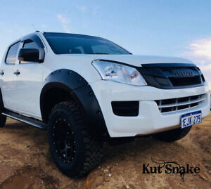 Kut Snake Flares for Isuzu D-MAX 06/2012-Current Front Wheels ABS DMAX (Code #15