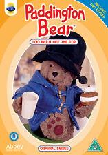 PADDINGTON BEAR - TOO MUCH OFF THE TOP  - DVD - REGION 2 UK
