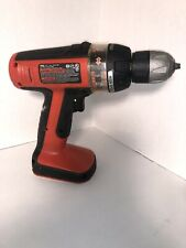 Black & Decker Cordless Drill BD12PS 12 Volt Works No Battery Included