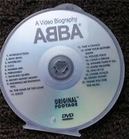 ABBA DVD KARAOKE GREATEST HITS - 21 TRACKS - WATERLOO,S.O.S.,FERNANDO MULTIPLEX