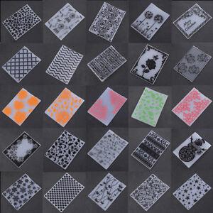 Plastic Embossing Folders Template Scrapbooking Paper Cards HandCrafts DIY