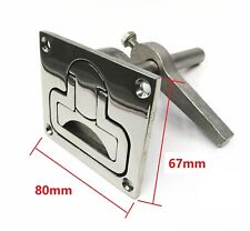 316 Stainless Steel Flush Hatch Latch turning lock lift handle