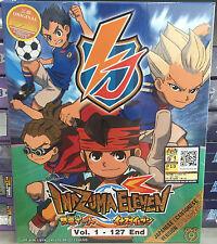 Anime DVD: Inazuma Eleven (1-127 End)_Good English Sub_All Region_FREE SHIPPING