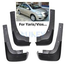 Fit For Toyota Yaris Sedan Vios Limo 07- 13 Mud Flaps Splash Guards Auto Fenders