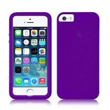 Housses et coques anti-chocs violet en silicone, caoutchouc, gel pour téléphone mobile et assistant personnel (PDA)