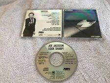 JOE JACKSON LOOK SHARP! ORIGINAL A&M CD MADE IN JAPAN OOP RARE