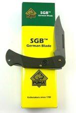 Puma SGB Featherweight 20 Lockback Knife Gray German Steel + Box 6300-MR
