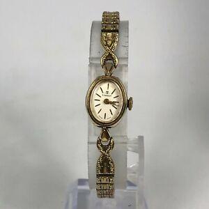 Tissot Ladies Watch Vintage Wind Up 10K Gold Filled Dress Formal Mechanical
