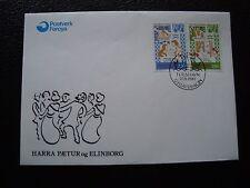 ILES FEROE (danemark) - 2 enveloppes 27/9/1982 (B1)