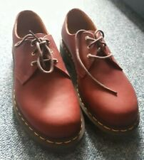 *RARE* Dr Martens For life 1461 Shoes Oxblood/ Cherry Red Size UK 9 NEW &unworn